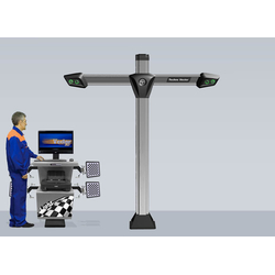 Техно Вектор 7 (7204 T A) Стенд для сход-развала с технологией 3D Технокар Стенды сход-развал Автосервисное оборудование