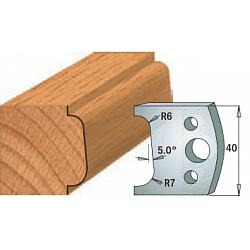 Комплекты ножей и ограничителей серии 690/691 #002 CMT Ножи и ограничители для фрез 40 мм Ножи