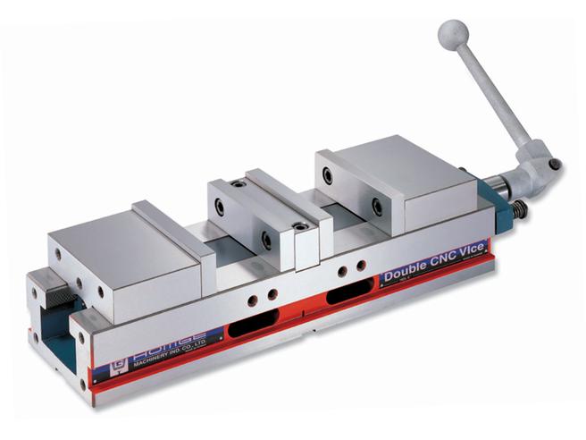 """HOMGE HDL-6"""" Тиски двойные прецизионные для станков с ЧПУ Homge Тиски станочные Инструмент и оснастка"""